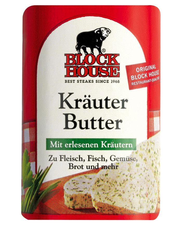 Block House Kräuter Butter, Riegel 125 g