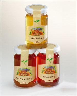 Honig Set Goldschätze 3 x 125 g alle Sorten