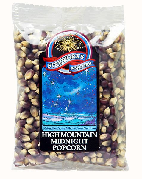 Mountain Midnight Fireworks Gourmet Popcorn aus...