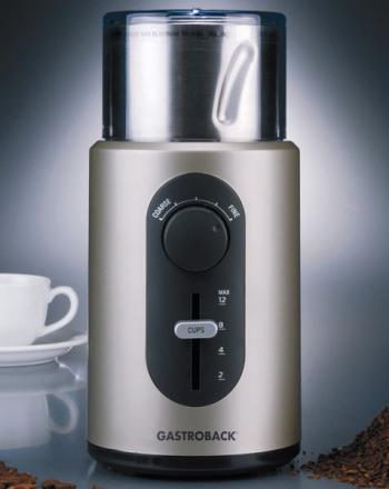 Design Kaffeemühle Basic von Gastroback