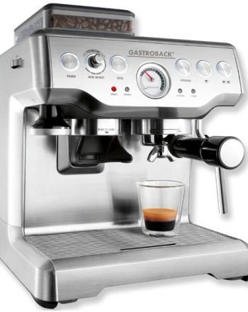 Design Espresso Maschine Advanced Pro mit Mühle von Gastroback