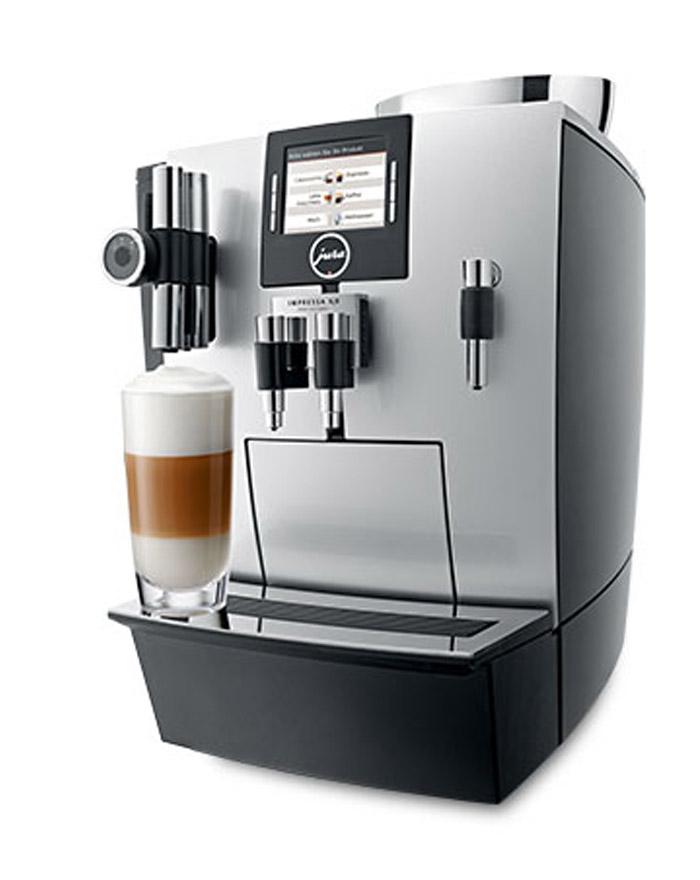 JURA Impressa XJ9 Professional brillantsilber Kaffeevollautomat