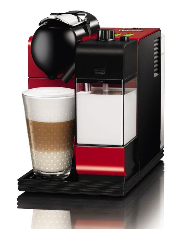 DeLonghi Nespresso® Maschine Lattissima Plus 520 Passion Red