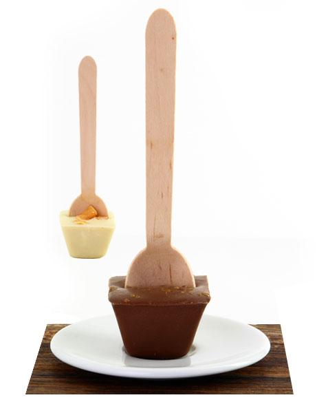 Fine Caramel Schoko-Löffel von COCAYA