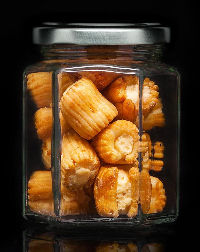 SUSHI CHEESE Cracker Mix Gourvita Moments 35g Glas