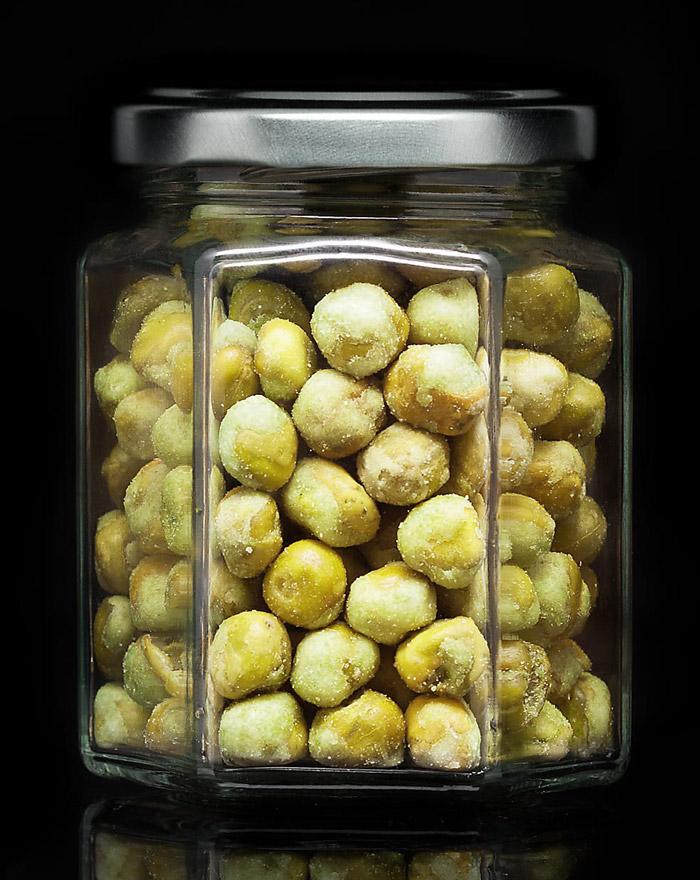 WASABI Peas Original Gourvita Moments 65g Glas