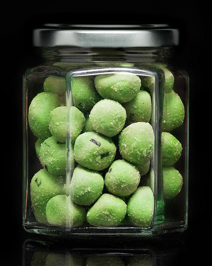 WASABI Erdnüsse Original Gourvita Moments 60g Glas