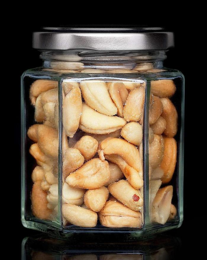 TRÜFFEL MIX Peanut & Cashews Gourvita Moments 90 g Glas