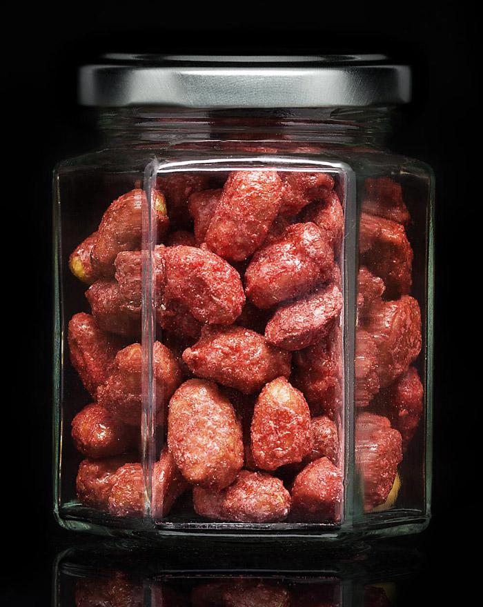 SWEET Gebrannte Erdnüsse Gourvita Moments 90 g Glas
