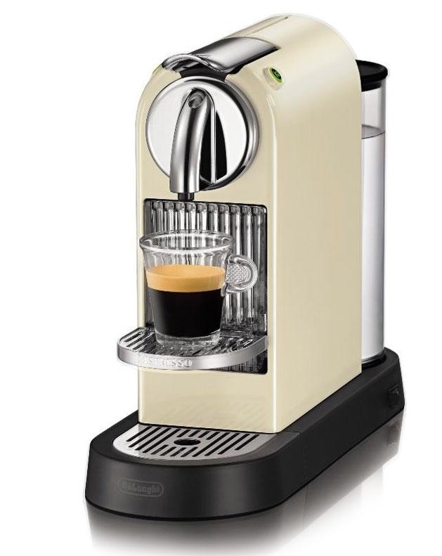 Nespresso® System DeLonghi Citiz EN 166 White