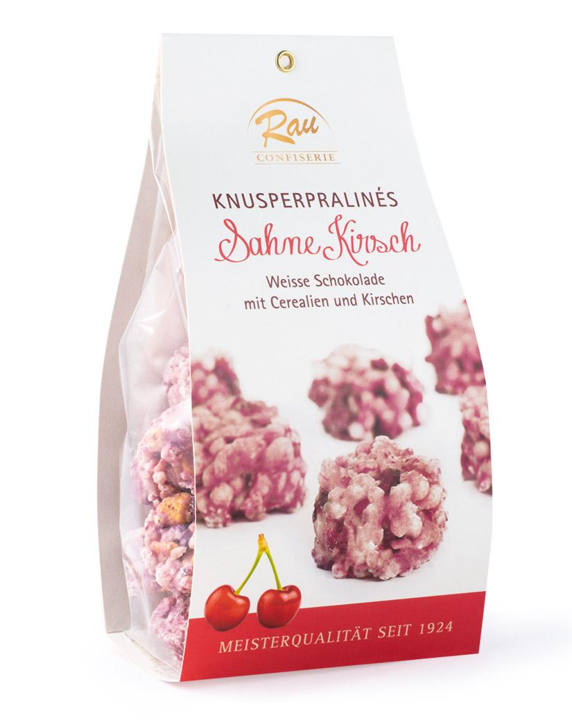 Knusperpralinés Sahne Kirsch, 200 g