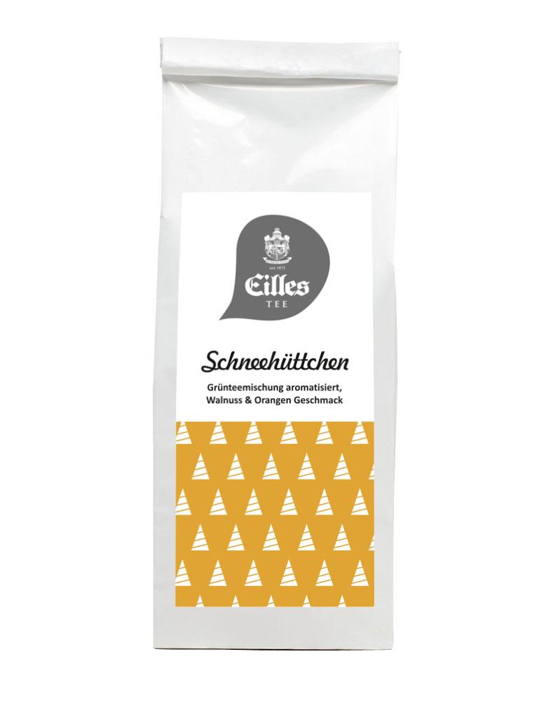 Schneehüttchen Weihnachts-Edition von EILLES TEE Tüte mit 100g