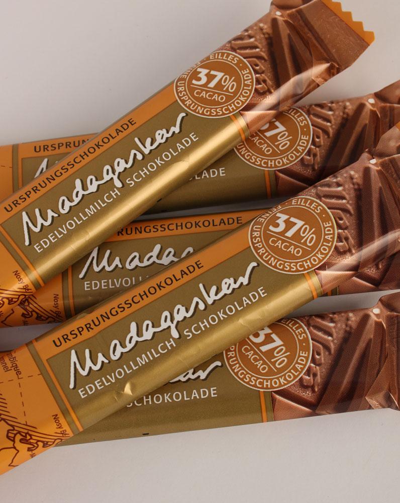 Madagaskar Ursprungs Schokolade von EILLES 5 x ...