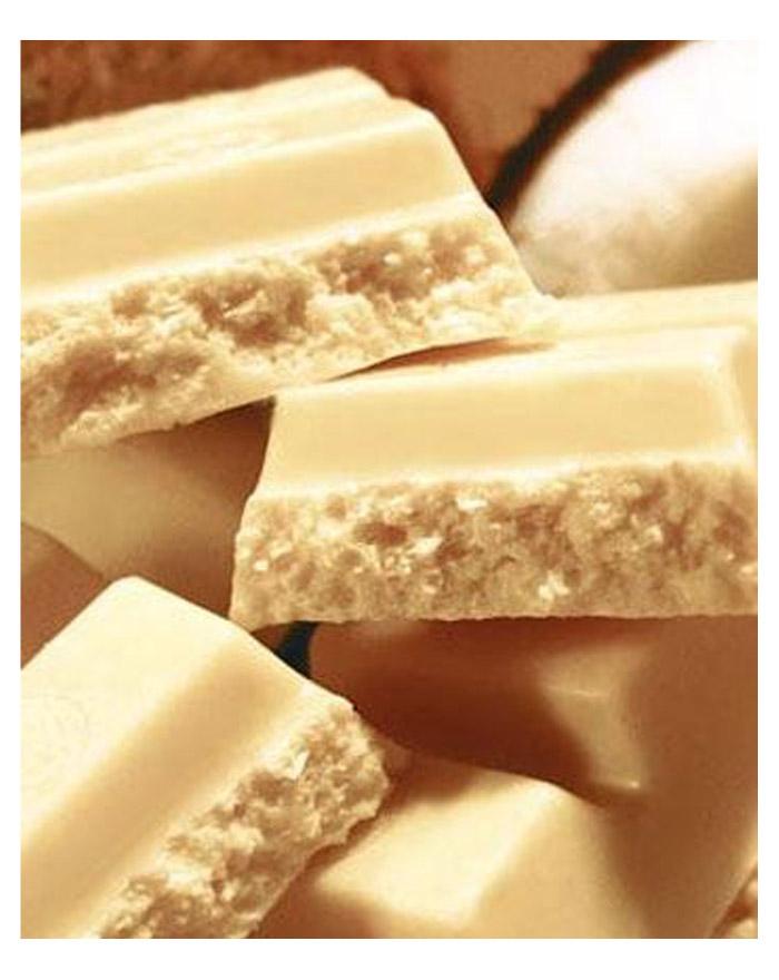 Weisse Kokos Schokolade von Shokomonk 50 g Riegel