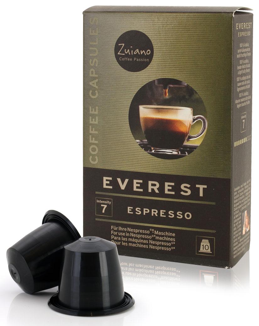 Espressokapsel EVEREST von Zuiano Coffee 10er Packung